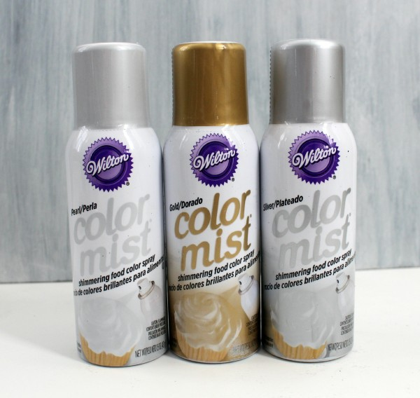 Silver Cake Decorating Mist